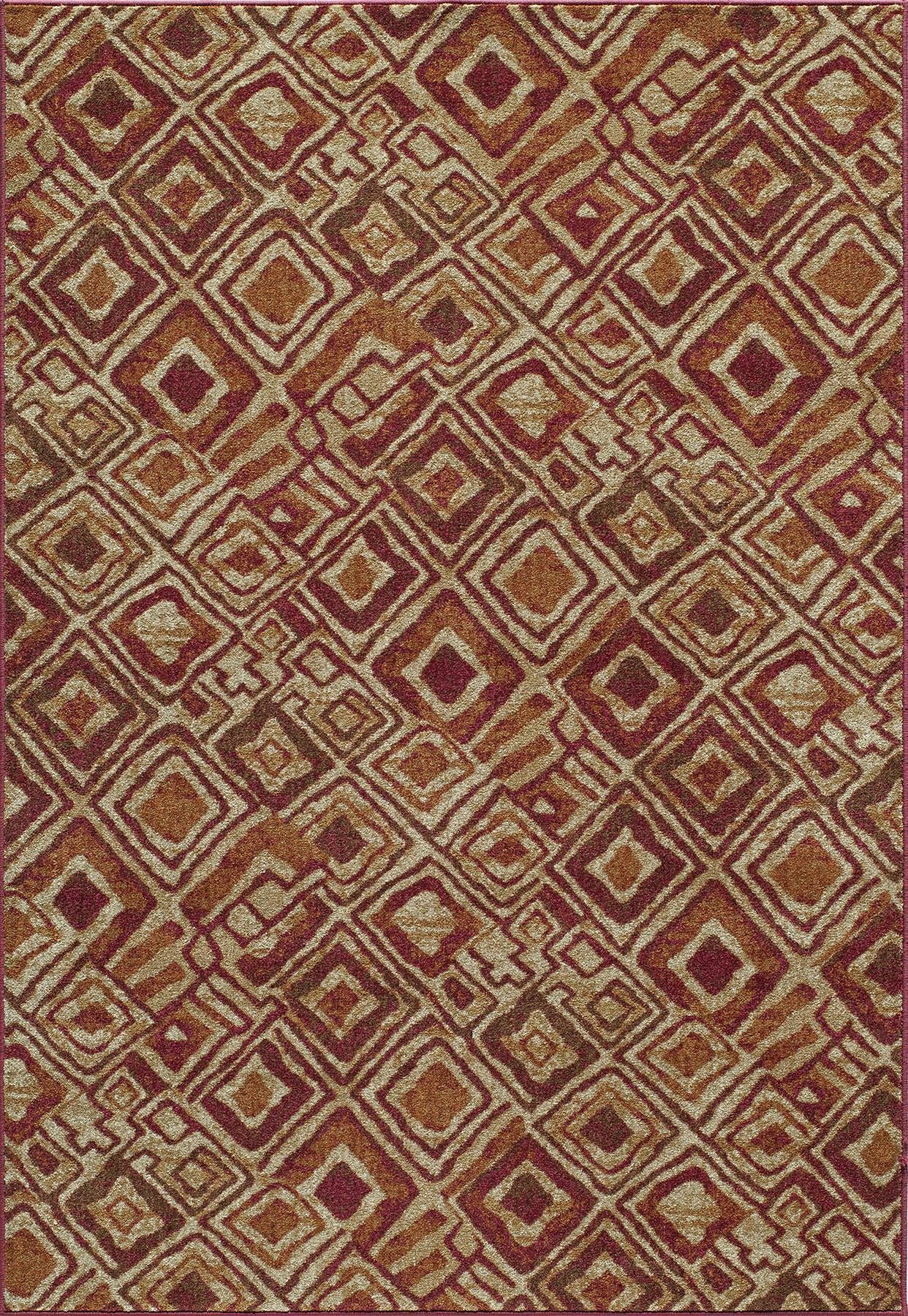 Momeni Vista VA-02 Red Area Rug main image