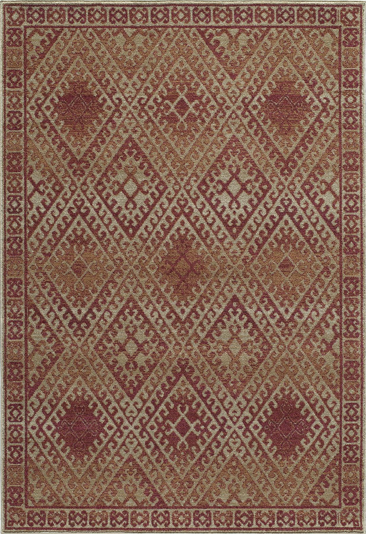 Momeni Vista VA-04 Red Area Rug main image