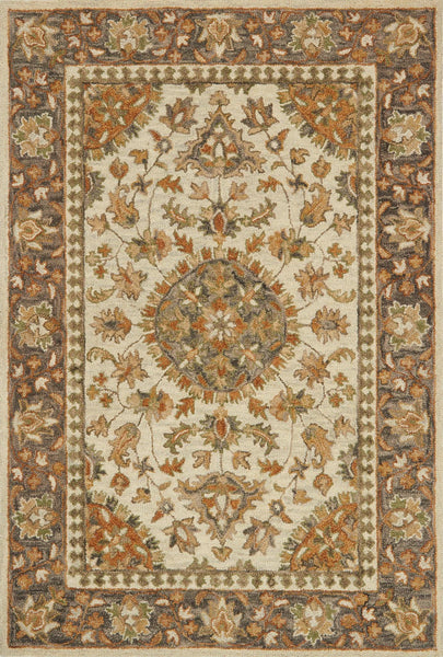 Loloi Victoria Vk 11 Ivory Charcoal Area Rug Incredible