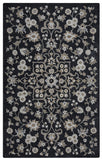 Rizzy Valintino VN9534 Black Area Rug