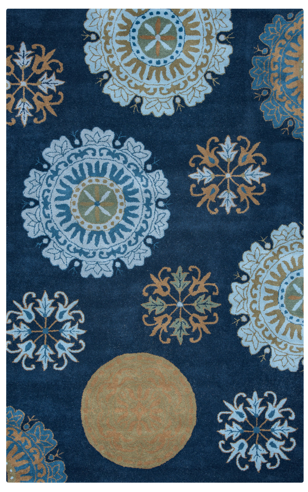 Rizzy Volare VO2467 Navy Area Rug main image