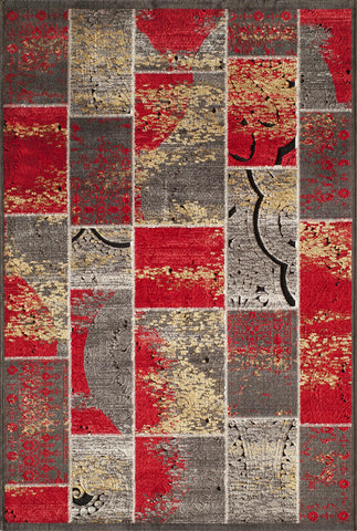 Momeni Vogue VG-01 Red Area Rug main image