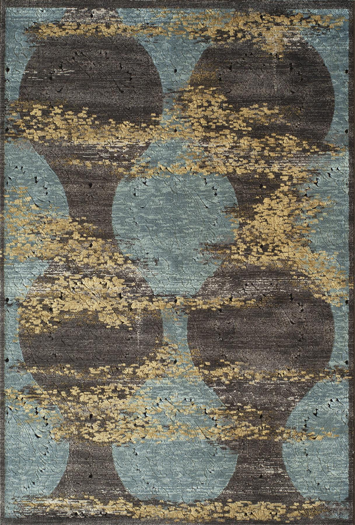 Momeni Vogue VG-02 Blue Area Rug main image