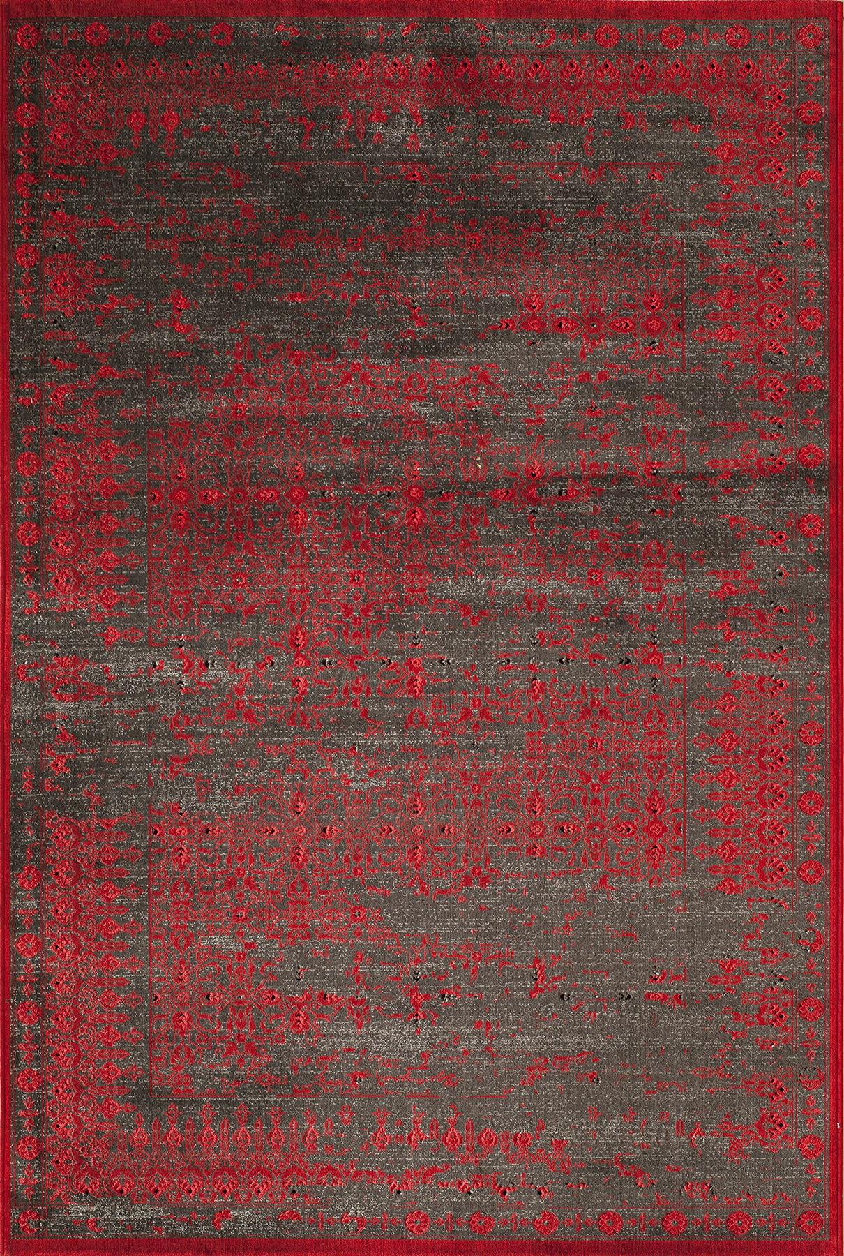 Momeni Vogue VG-03 Red Area Rug main image
