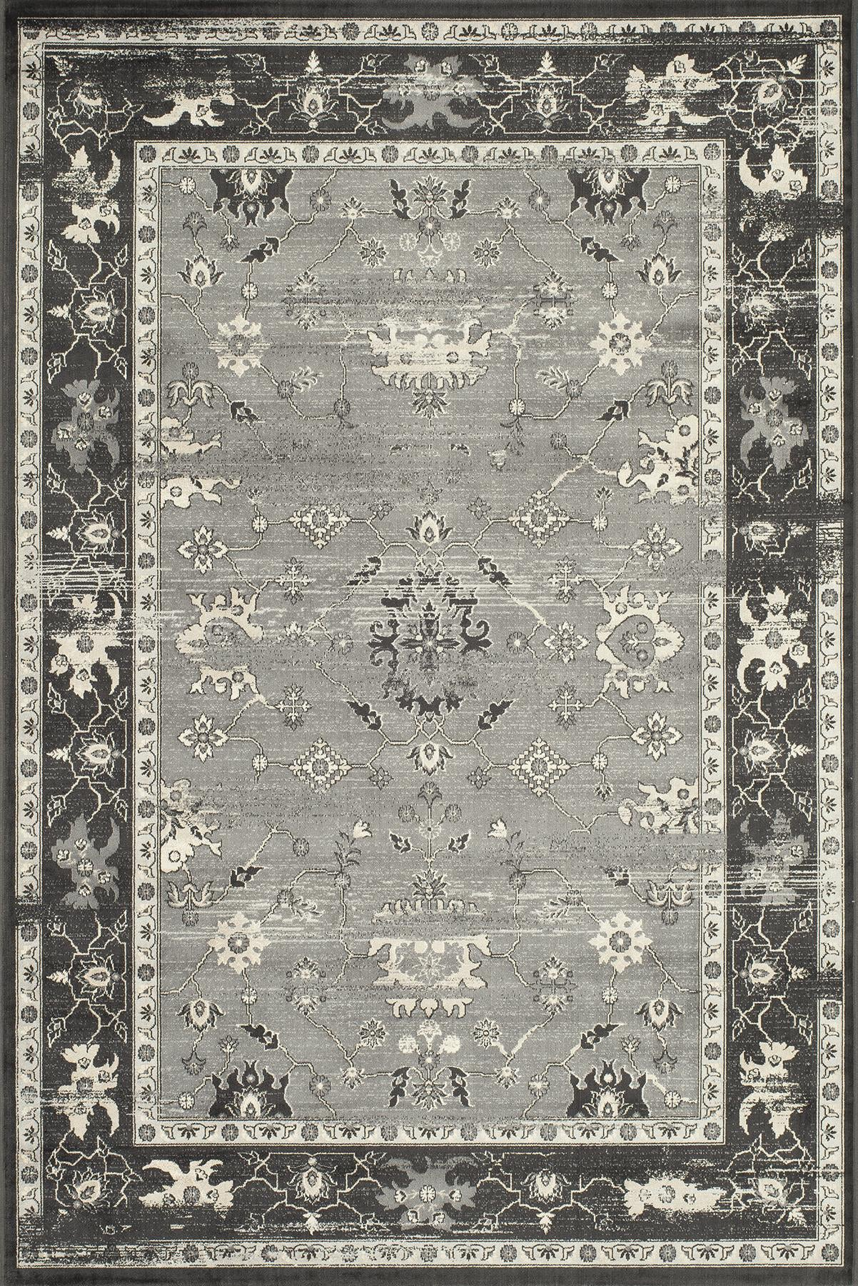 Momeni Vogue VG-05 Charcoal Area Rug main image