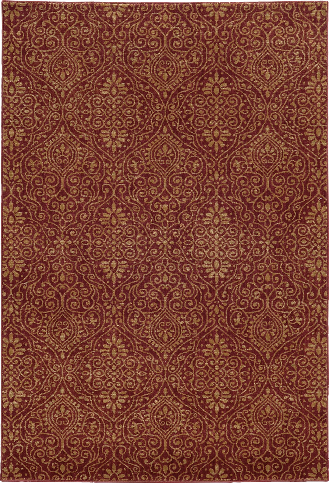 Tommy Bahama Voyage 091R0 Red Area Rug main image