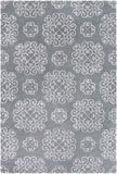 Waldorf WAR-1011 Gray Area Rug by Surya