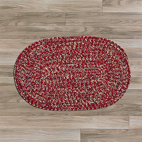 Colonial Mills West Bay WB71 Sangria Tweed Area Rug main image