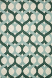 Loloi Weston HWS04 Blue / Green Area Rug main image