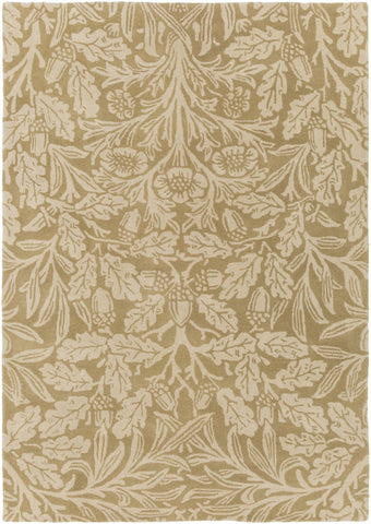 Surya WLM-3012 Green Area Rug by William Morris