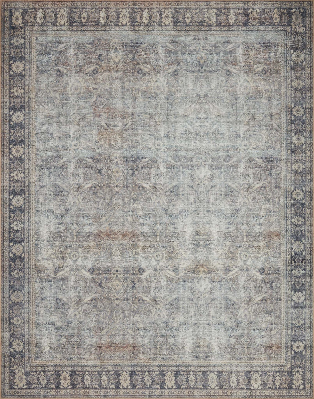 Loloi II Wynter WYN-07 Grey / Charcoal Area Rug main image