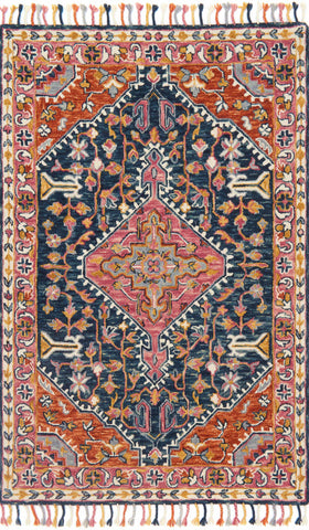 Loloi Zharah ZR-01 Navy/Multi Area Rug main image