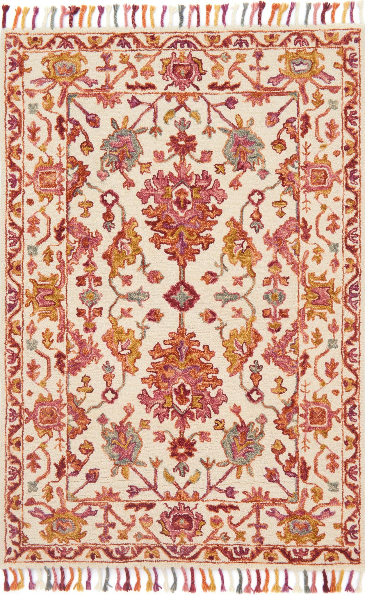 Loloi Zharah ZR-06 Berry Area Rug main image