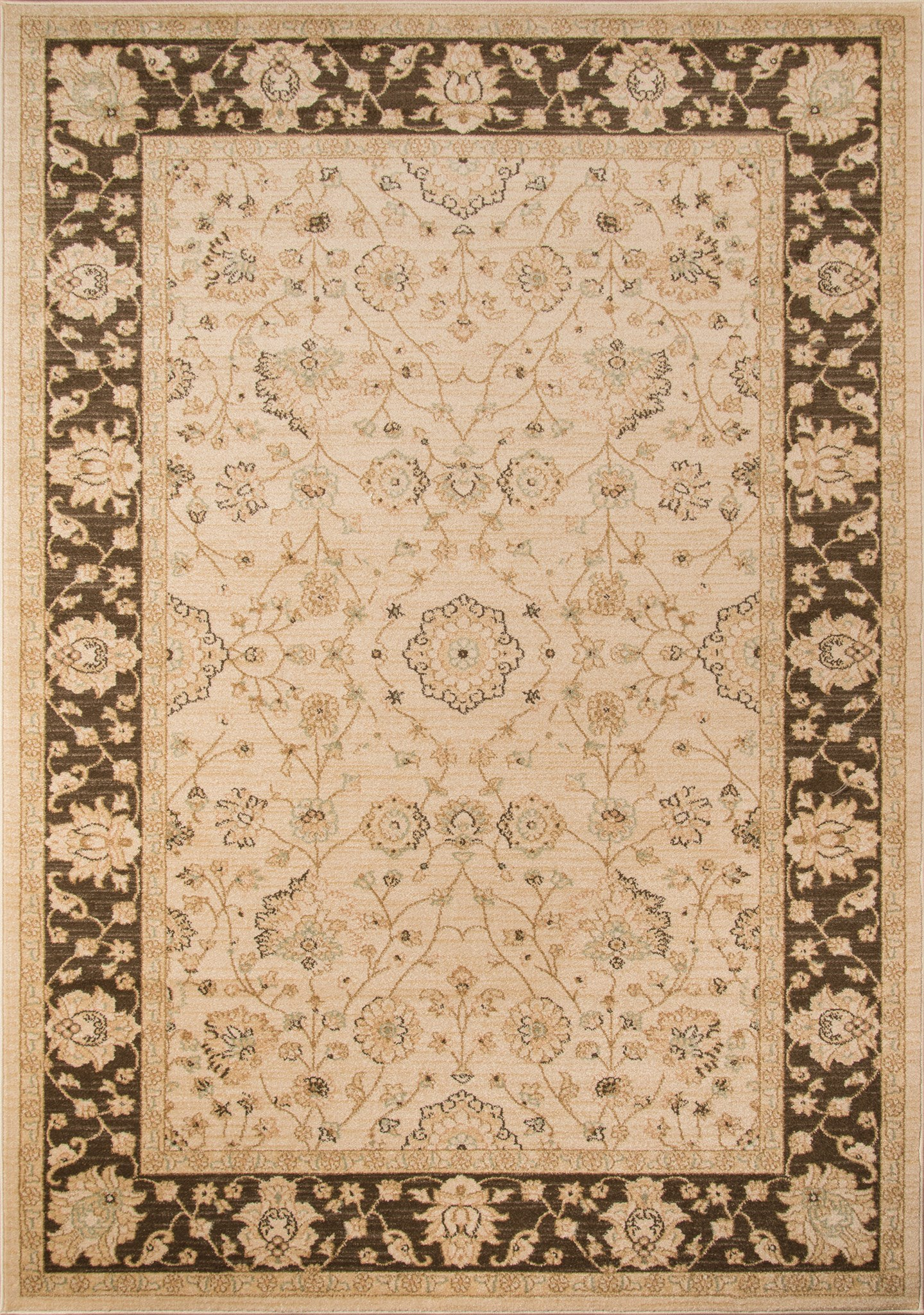 Momeni Ziegler ZE-01 Brown Area Rug main image