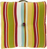 Surya Storm Multi-Dimensional Stripe Cover ZZ-418 Pillow