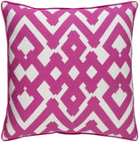 Surya Large Zig Zag ZZG001 Pillow by Florence Broadhurst main image