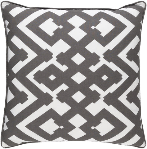 Surya Large Zig Zag ZZG002 Pillow by Florence Broadhurst main image