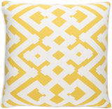 Surya Large Zig Zag ZZG003 Pillow by Florence Broadhurst main image