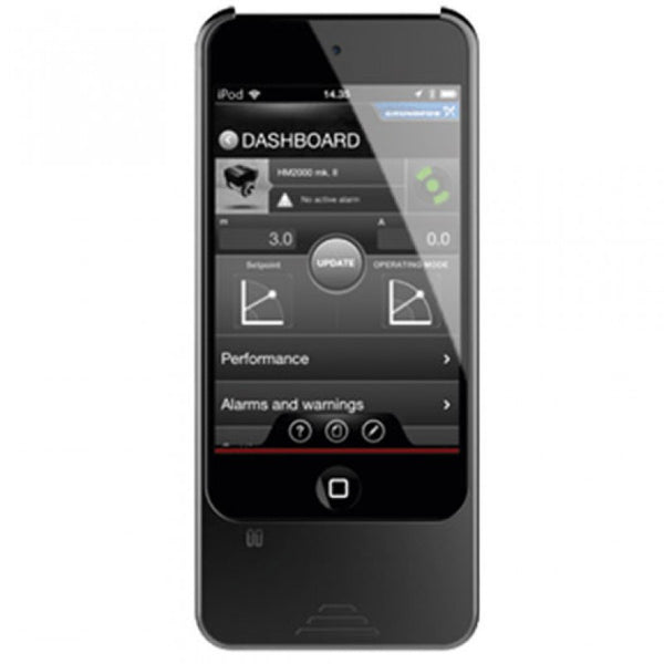 Grundfos GO MI 204 I-Pod Touch 5 Controller with Dongle and Cover for MAGNA3 (D) Circulators (98612711)