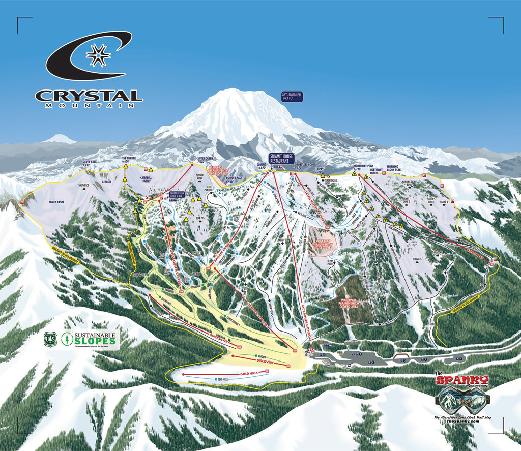 Crystal Mountain Spanky