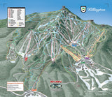 Killington Trail Map Spanky