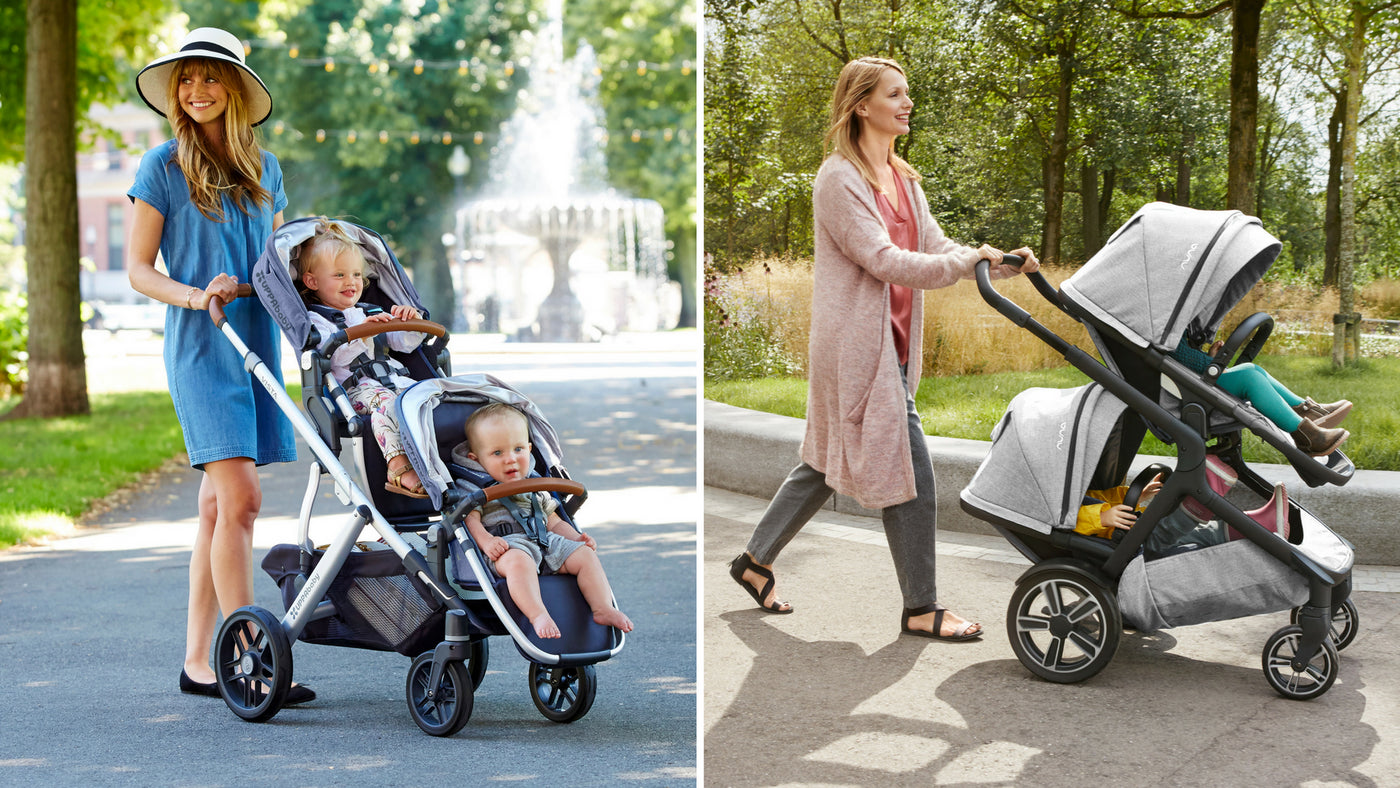 UPPAbaby VISTA V2 vs. Nuna Demi Grow Stroller Comparison | Strolleria