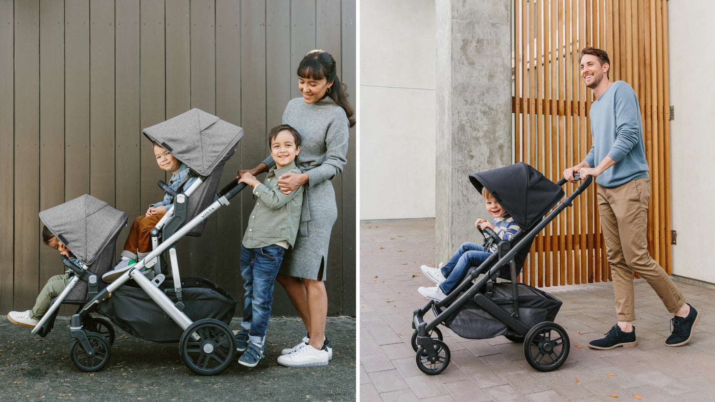 UPPAbaby VISTA vs. UPPAbaby CRUZ Stroller Comparison ...