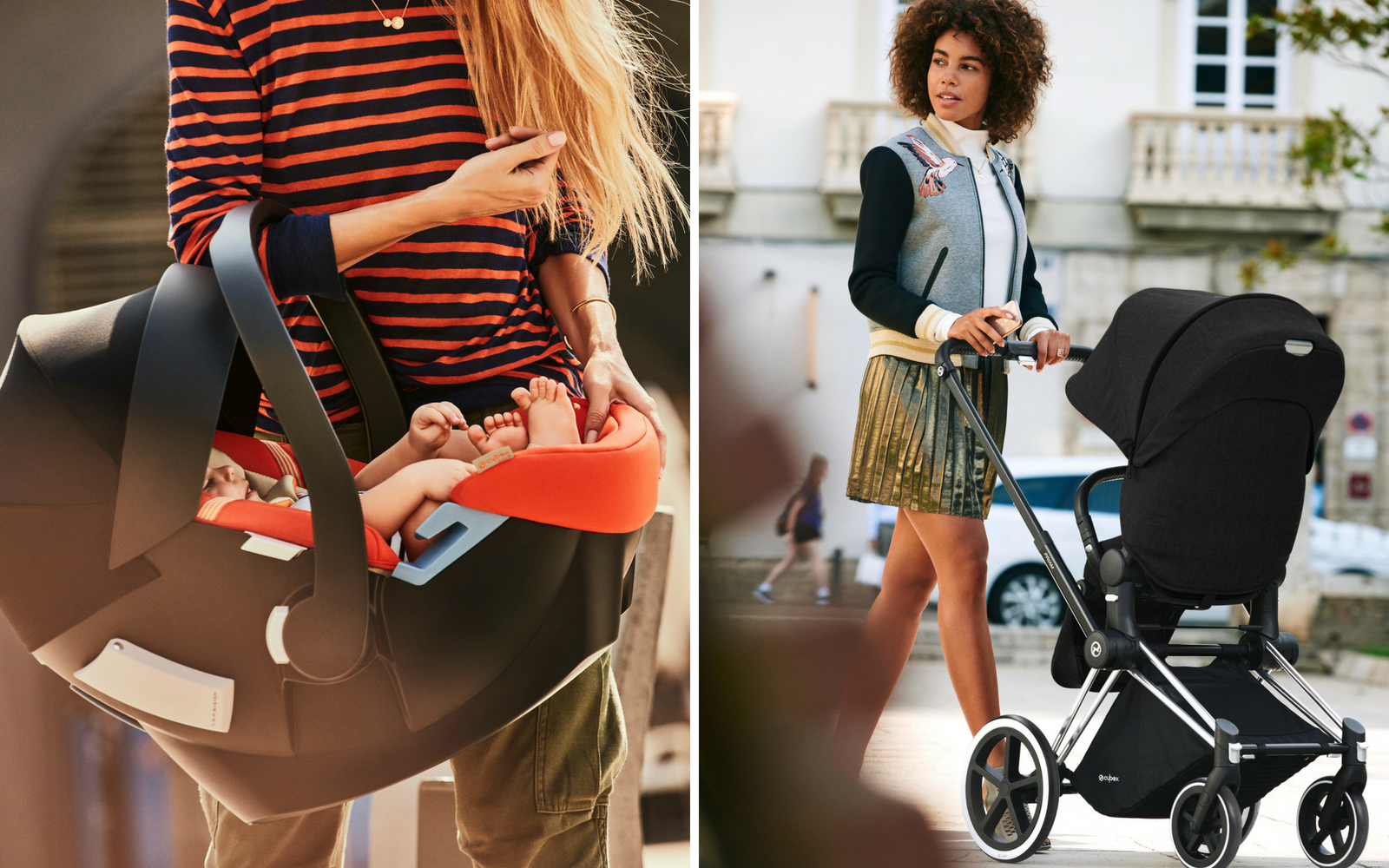 Strollers Compatible With Cybex Aton Q And M Infant Car Seats