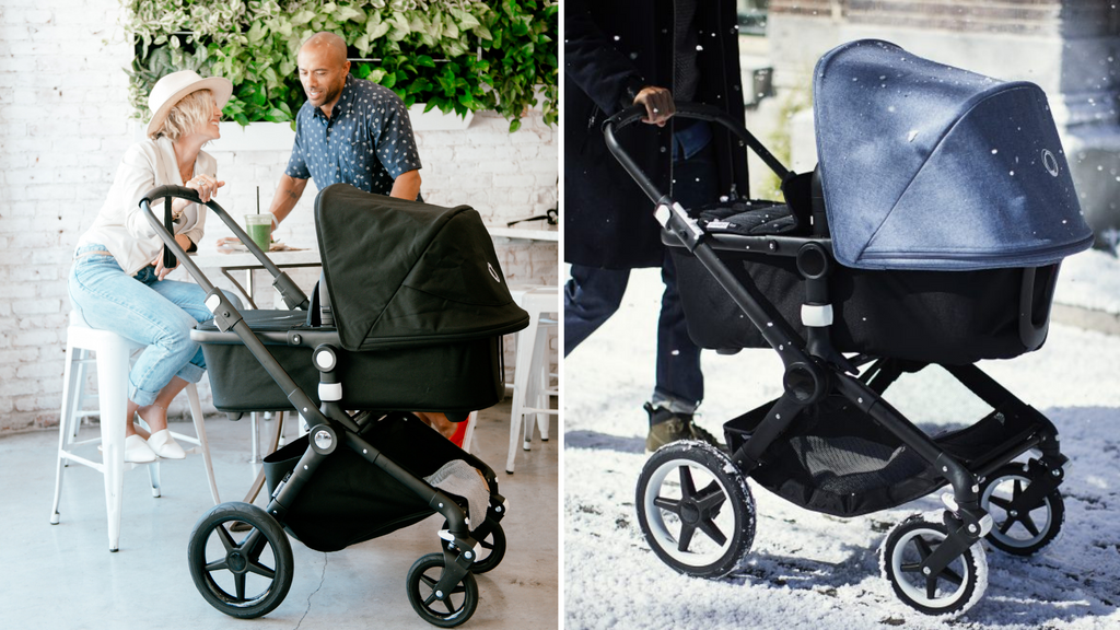 Bugaboo Lynx vs. Bugaboo Fox Stroller Comparison