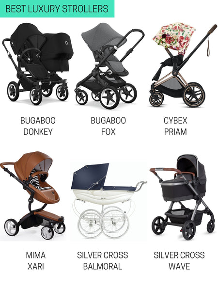 best luxury strollers of 2021