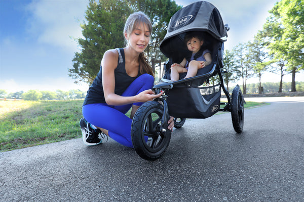 Can I jog with the Uppababy Cruz