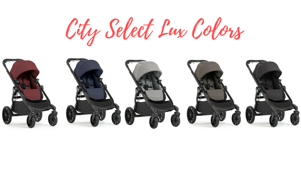 Baby Jogger City Select vs. City Select Lux Stroller Comparison
