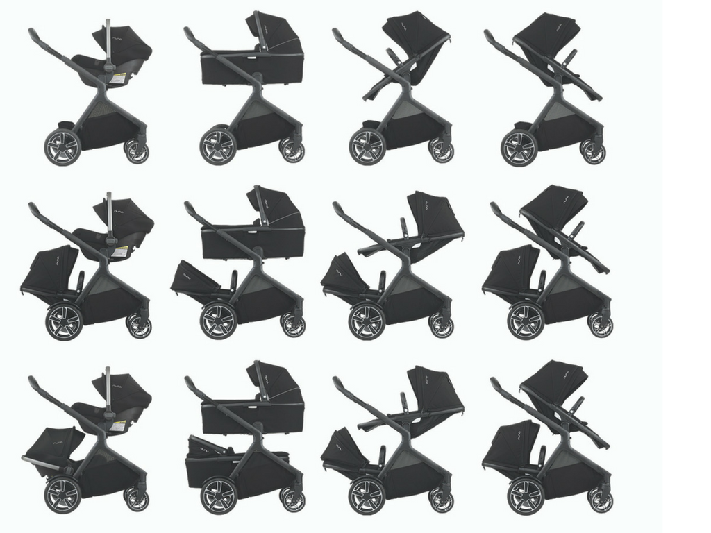 9 Convertible Strollers That Grow With Your Family Strolleria Stroller Creative Clasic 23 Configurations Two Infant Car Seats Bassinets Or Any Combination