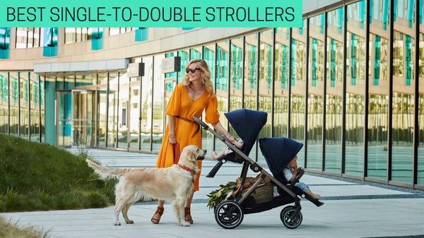 best single to double strollers