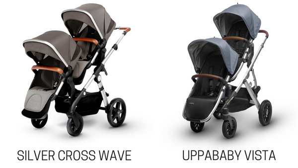 silver cross wave vs uppababy vista stroller comparison