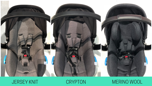clek liing vs nuna pipa infant car seat comparison