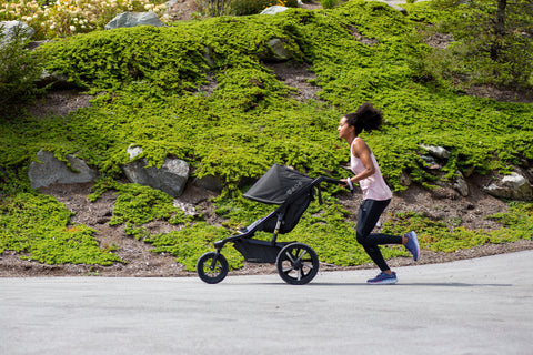 Can you run with baby jogger city mini / city mini gt