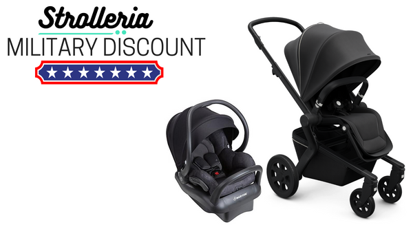 Strolleria Military Discount on Strollers, Car Seats and Baby Gear