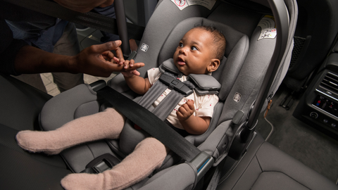 Which Nuna car seats can be installed without the base?