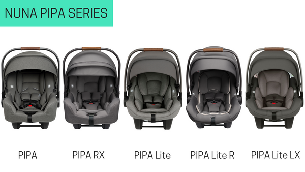 2021 PIPA vs. 2020 PIPA infant car seat comparison
