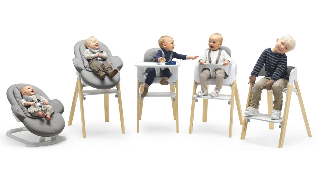 Stokke Tripp Trapp vs. Steps vs. Clikk High Chair Comparison