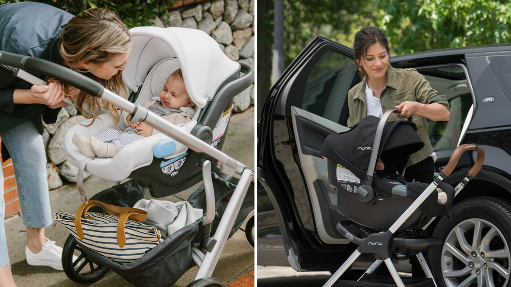 UPPAbaby MESA vs. Nuna PIPA Infant Car Seat Comparison