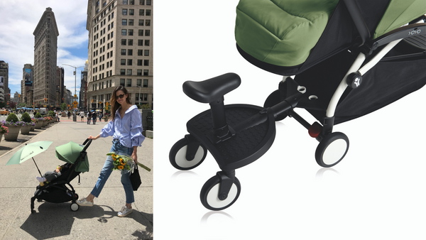 Can the babyzen yoyo be a double stroller