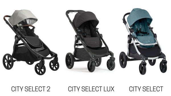Baby Jogger City Select 2 vs. City Select Lux and City Select