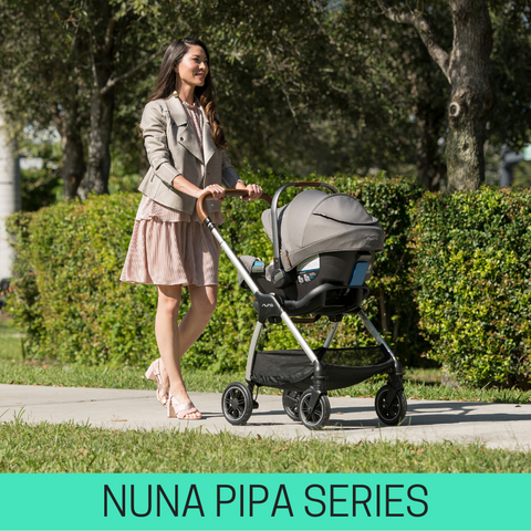 strollers compatible with nuna pipa