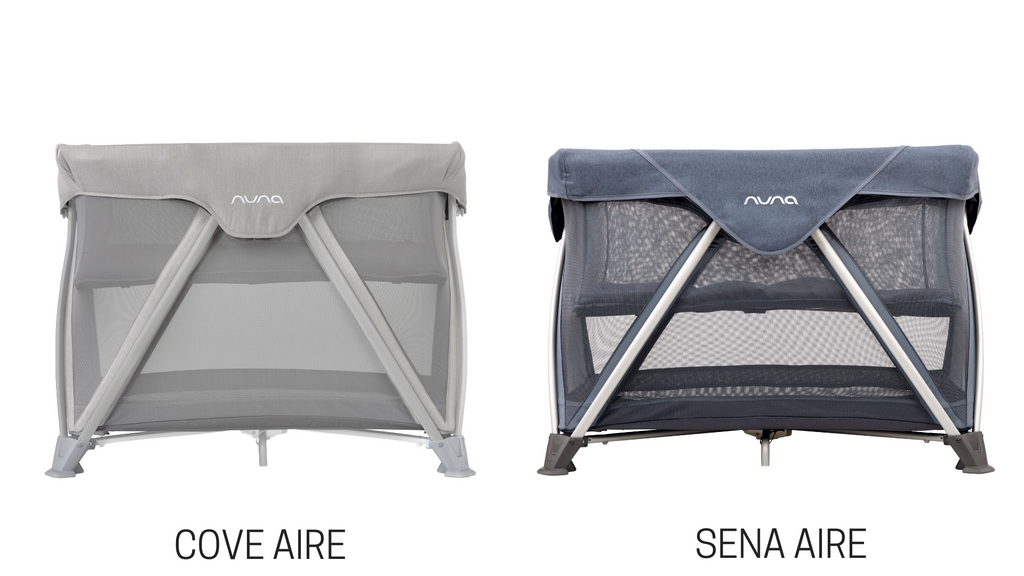 Nuna COVE Aire vs. Nuna SENA Aire Playard Comparison