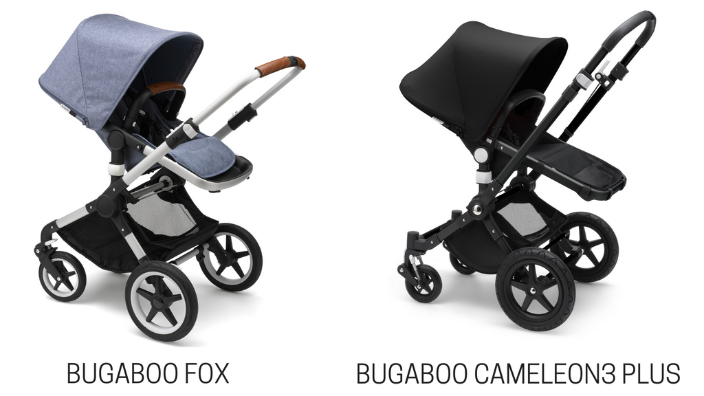 Bugaboo Fox Vs Bugaboo Cameleon3 Plus Stroller Comparison Strolleria