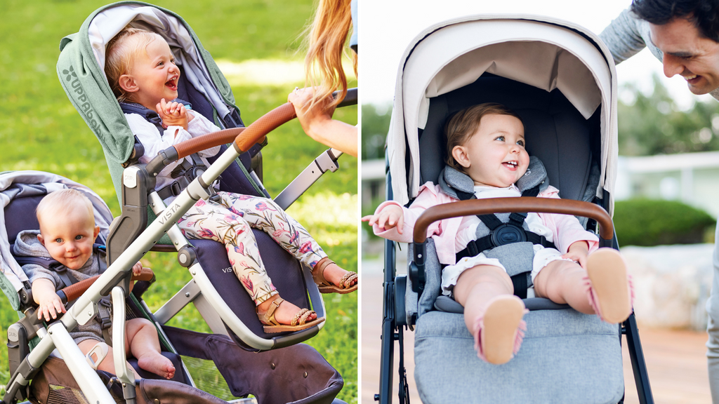 UPPAbaby VISTA vs. Nuna MIXX Stroller Comparison