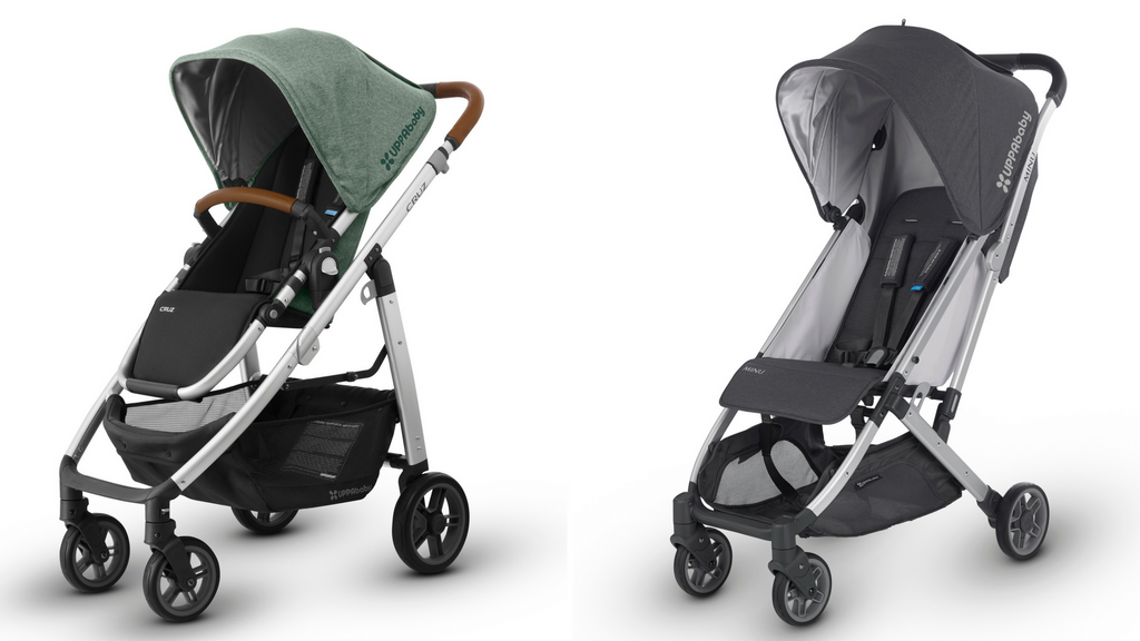 uppababy cruz vs uppababy minu stroller comparison