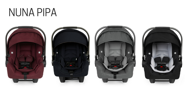 Nuna PIPA Lite Infant Car Seat Comparison